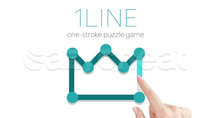 1LINE - one-stroke puzzle game Cheat