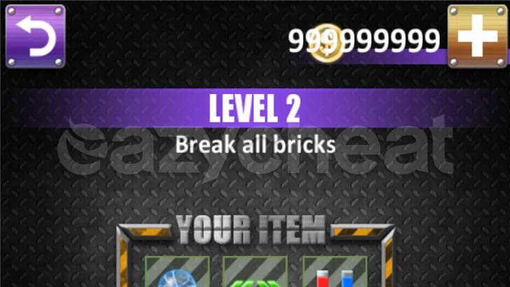 Break Bricks Cheat