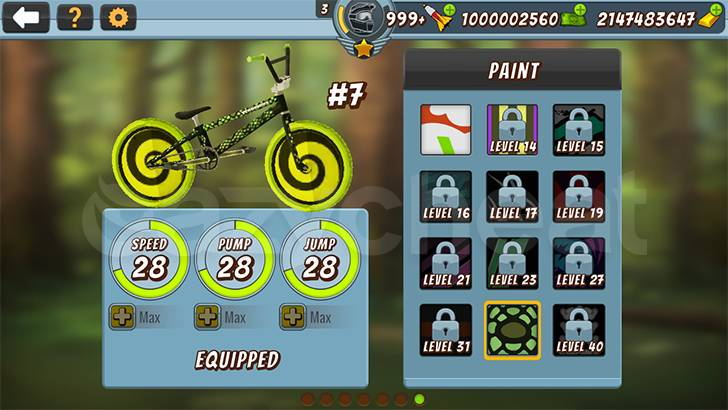 Mad Skills BMX 2 cheat