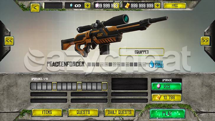 Best Sniper: Shooting Hunter 3D Cheat