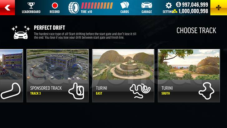 Drift Max Pro cheat
