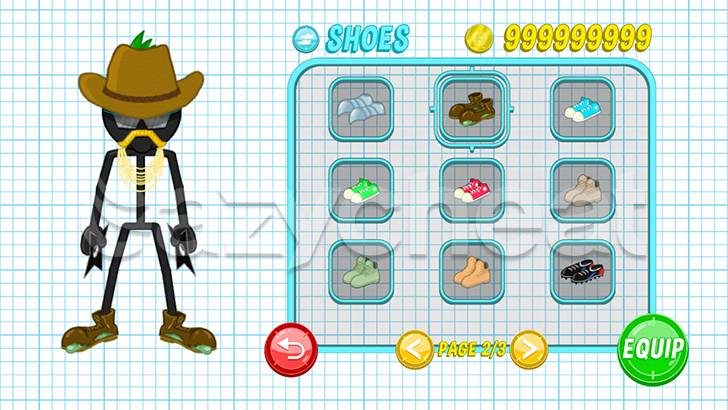 Gun Fu: Stickman 2 cheat