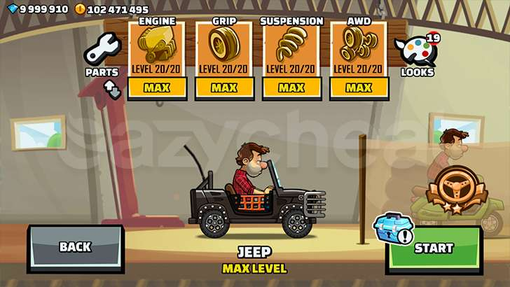 Hill Climb Racing 2 Unlimited Gems Coins