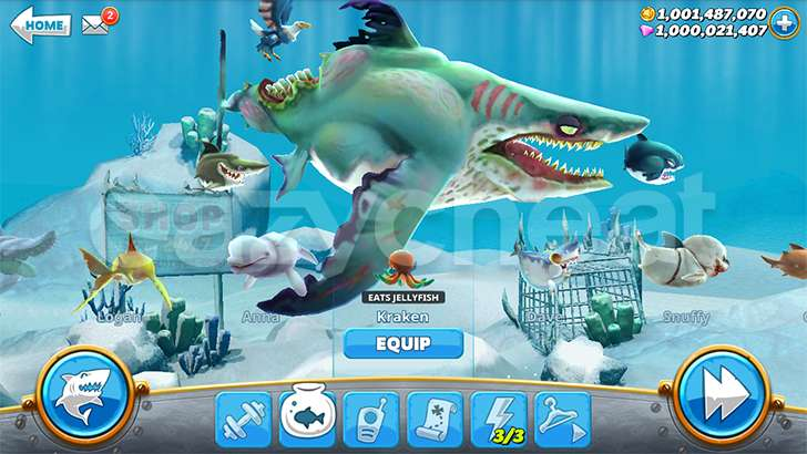 Hungry Shark World Unlimited Coins Gems