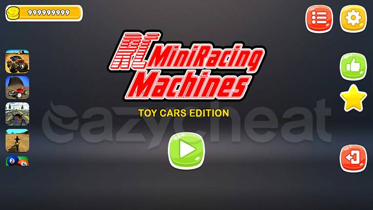 RC Mini Racing Machines Cheat