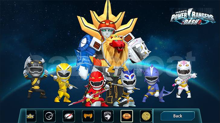 Power Rangers Dash cheat