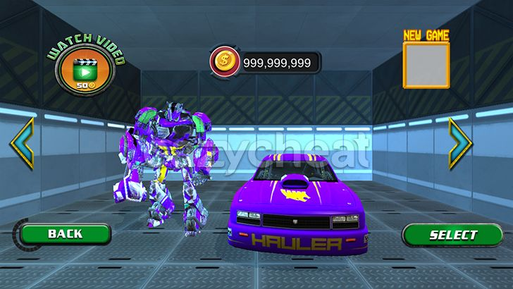 Real Robot Car Transformer War Cheat Unlimited Coins All Robots Unlocked v1.2.1