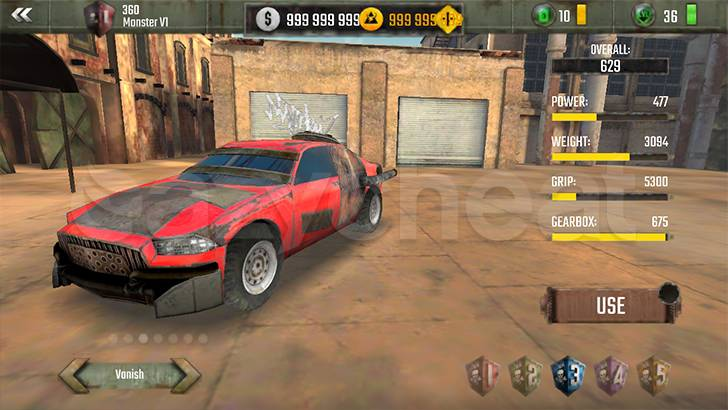 Racing Xtreme: Fast Rally Driver Cheat