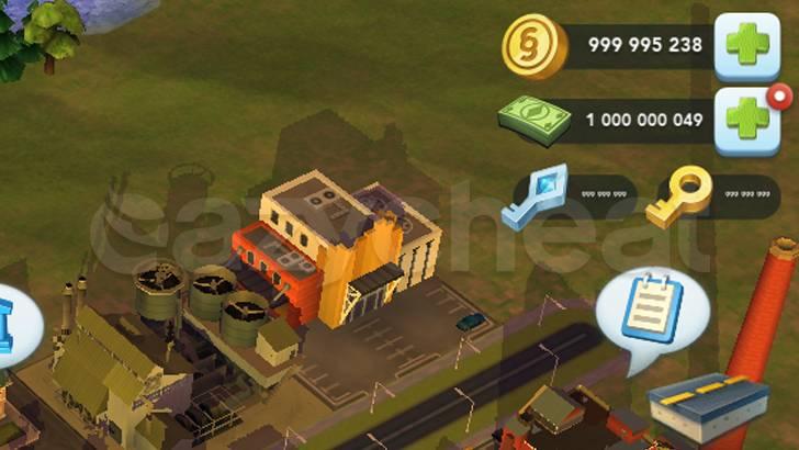 SimCity BuildIt Cheat