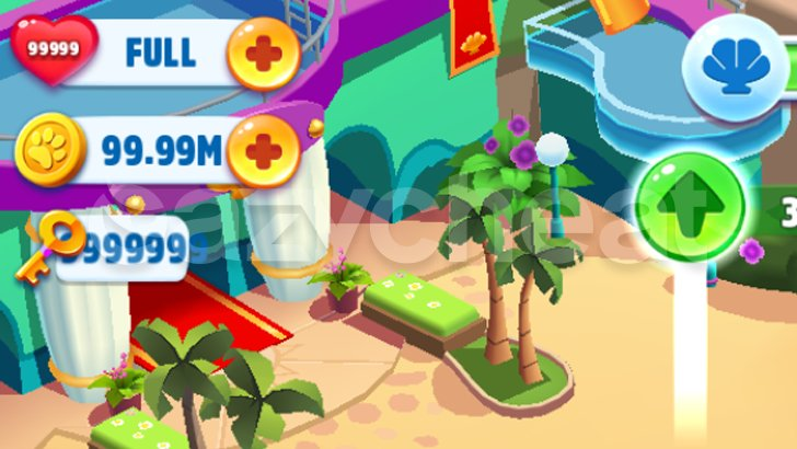 Talking Tom Pool Unlimited Lives Coins Keys
