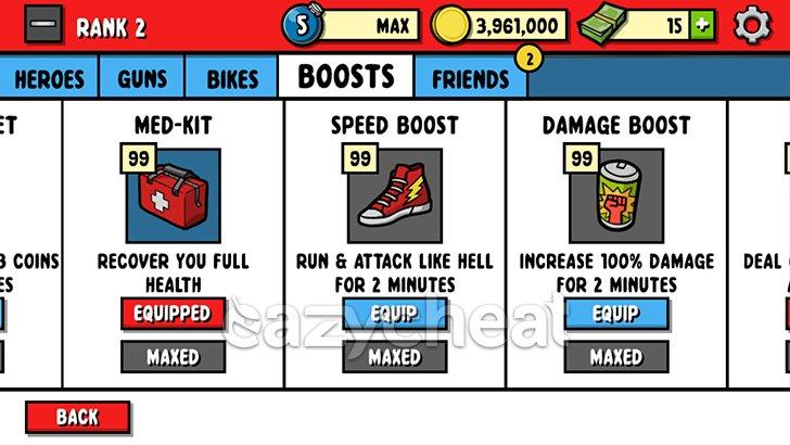 Zombie Age 3 v1.2.3 Cheats