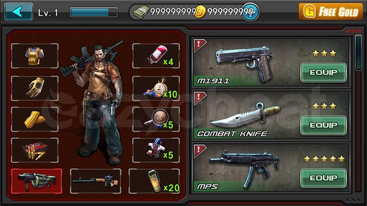 Zombie Frontier : Sniper cheat